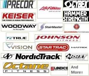 Total Fitness Repairs Brands